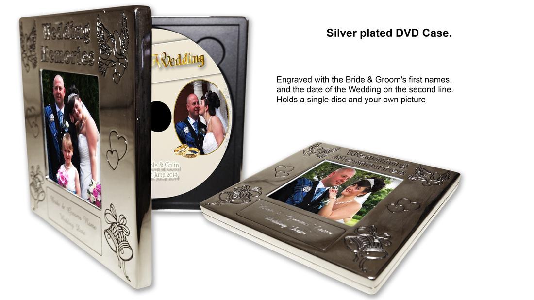 Dvd case for wedding
